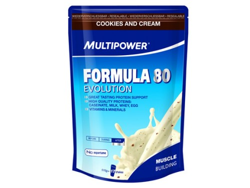 Multipower formula 80 evolution 510 g