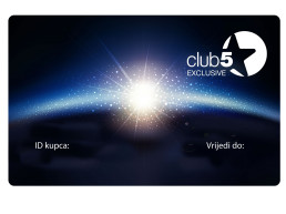 Produljenje članstvo Club 5* Exclusive