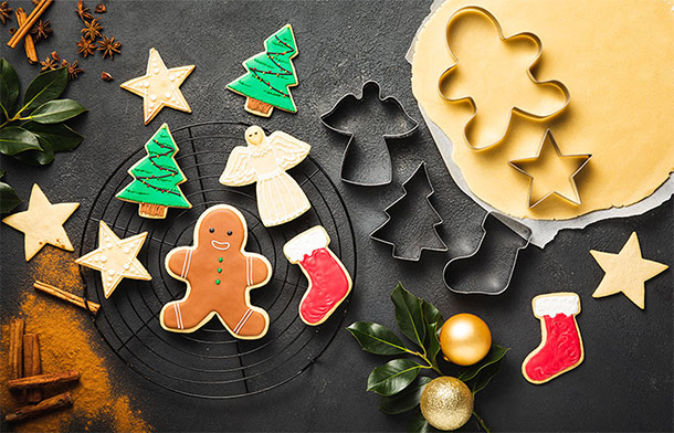 Delimano All Year Festive Cookie Set